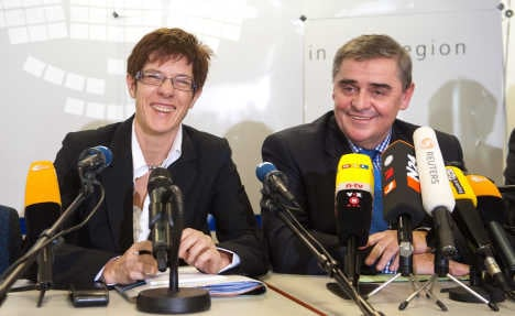 Saarland's state premier to leave post this year