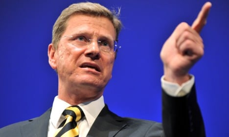 Embattled Westerwelle tries to rally FDP