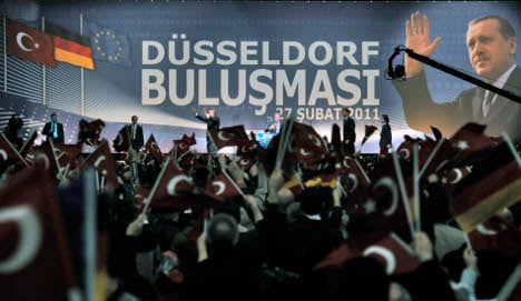 Erdogan slams 'xenophobia' and urges Turks to integrate