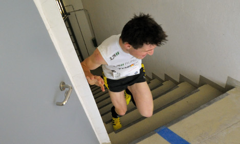 German wins sixth straight Empire State Building stair race