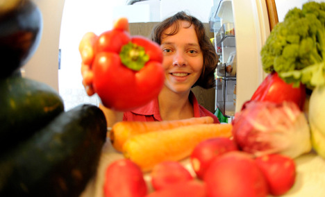 Group urges Germans to become 'part-time vegetarians'