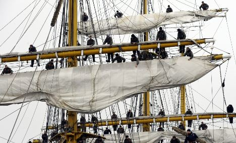 Formaldehyde likely caused Gorch Fock sailor's weight gain