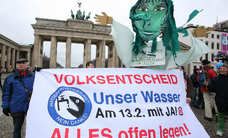 Water utility referendum a 'cold shower' for Berlin