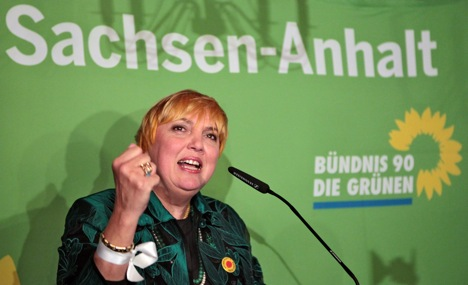 Greens surge in state election in Saxony-Anhalt