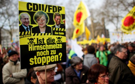Huge anti-nuclear protests hit the streets
