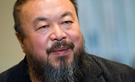 Chinese artist Ai Weiwei to work from Berlin