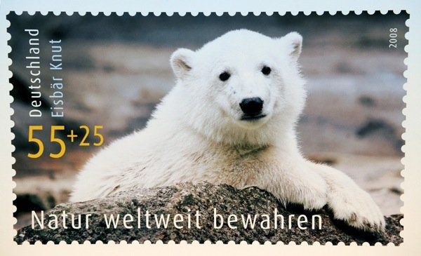 He even got his own German stamp.Photo: DPA