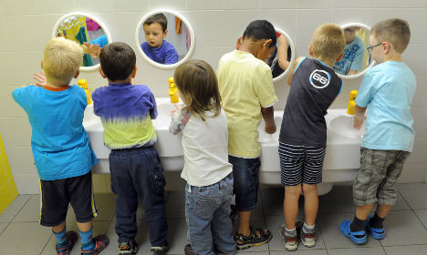 Study finds high concentration of chemicals at kindergartens