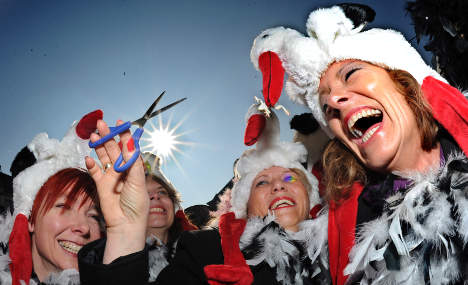 Karneval festivities commence in the sunny Rhineland