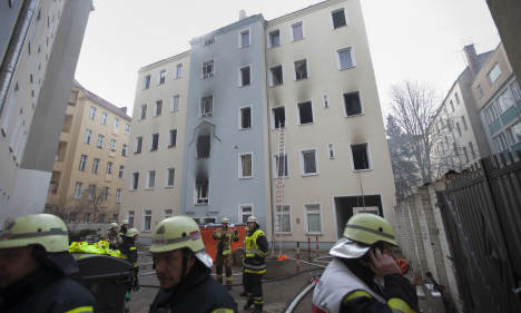 Two adults, nine-day-old infant die in Berlin apartment fire
