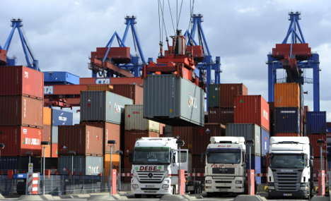German exports shift from US to China