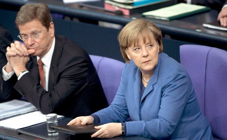 Germany's cowardly foreign policy
