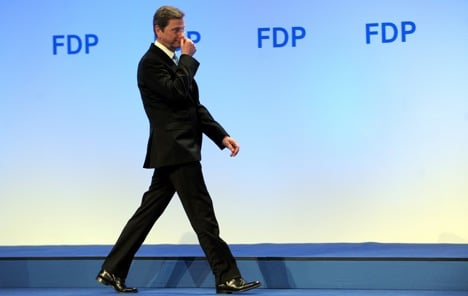Westerwelle stepping down as FDP leader