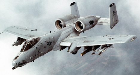 US attack jet crashes in the Eifel