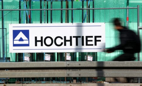 Hochtief shares head down under due to Aussie subsidiary