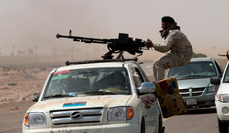 Germany and China call for Libya ceasefire
