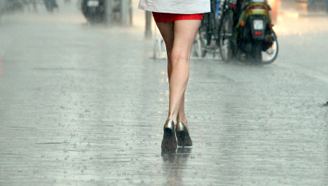 After glorious sunny holiday weekend, rain returns