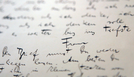 Kafka's letters bought by German archive