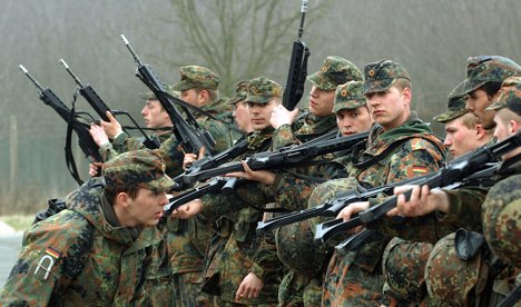 FDP rejects proposed use of army inside Germany