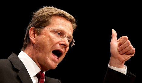Westerwelle warns Syria of tighter EU sanctions