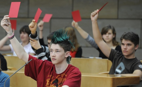 Bremen's 16-year-olds vote in state election