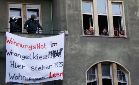 Activists agitate against rising Berlin rents and gentrification