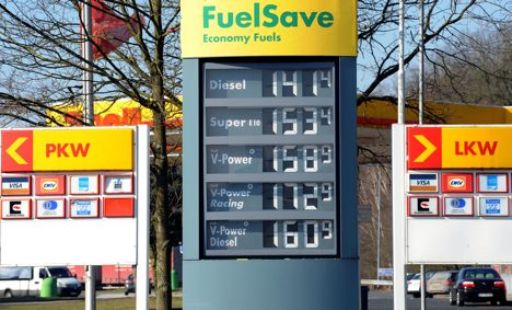 German petrol prices too high, says cartel authority