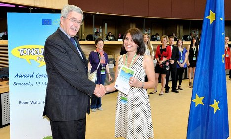 Expat's language essay wins her a trip to Brussels