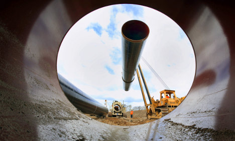 First Nord Stream gas pipeline completed