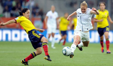USA and Sweden advance to World Cup quarter-finals
