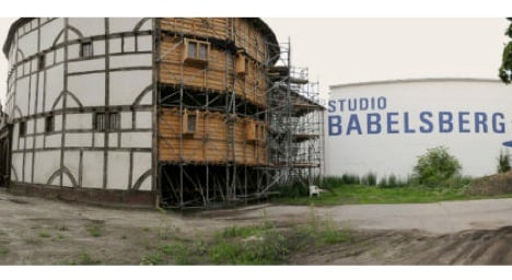 Copy of Shakespeare's Globe Theatre for sale on eBay