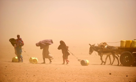Germans 'reluctant' to help Africa as famine worsens
