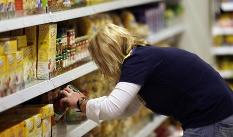 Consumer food ingredient website crashes on launch