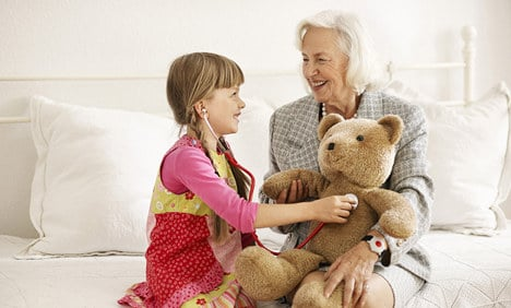 Families go grey with granny au pairs