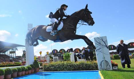 New show jumping queen crowned