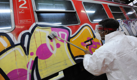 Cost of train graffiti and vandalism on the rise, operators say