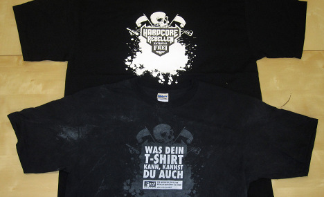 Neo-nazis bamboozled by tricky T-shirts