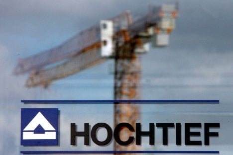 Stormy Australia weighs on Hochtief results
