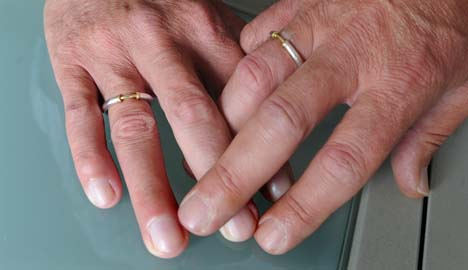 Conservatives rule out legalising gay marriage