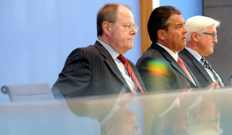 Leadership troika helps SPD recover support