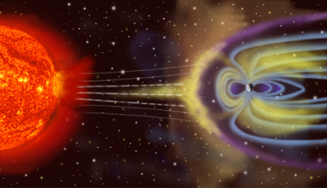 Antimatter spotted on the edge of the world