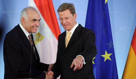 Germany rolls over Egyptian debt into aid