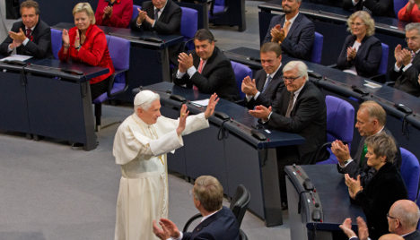Pope says Europe risking its cultural identity