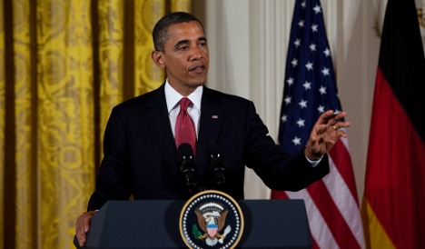 Obama calls for action to solve euro crisis
