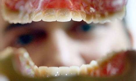 Dentures go missing after ex-couple's spat