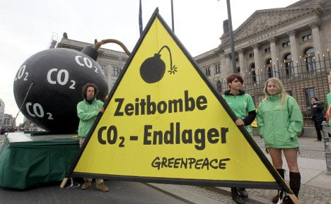 Germany rejects carbon dioxide storage plans