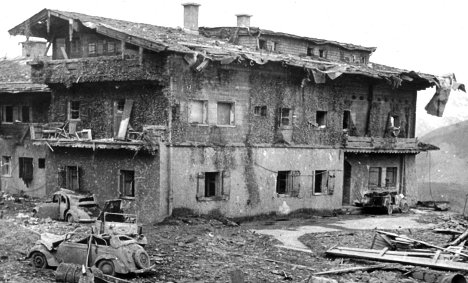 Debate flares on protecting remains of Hitler's mountain retreat