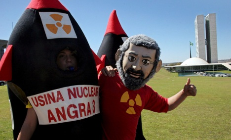 Germany to guarantee Brazilian nuclear plans