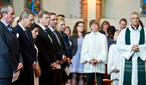 Germany commemorates victims of 9/11 attacks