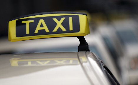 German taxis rank well for service but poorly on price